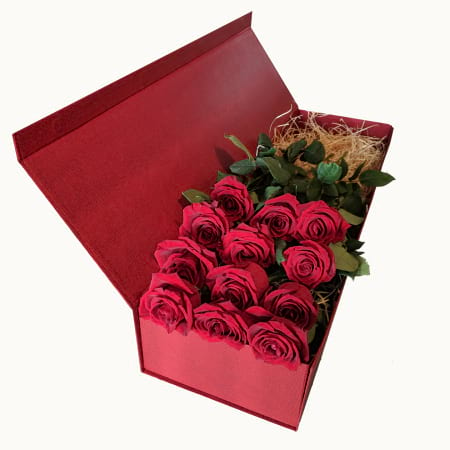 Valentines Boxed roses