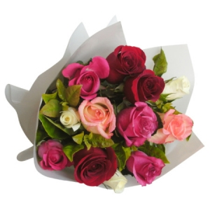 Josephine- Special 10 rose bouquet