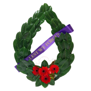 Laurel ANZAC wreath