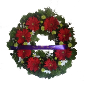 ANZAC Day Lest We Forget wreath