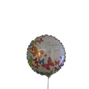 Thinking Of You 9inch balloon on a stick
