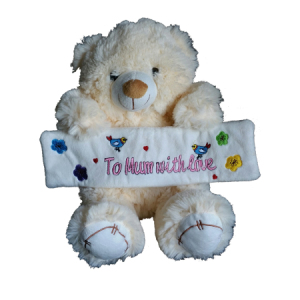 To Mum with love Bear