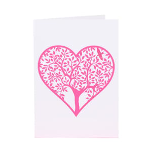 Tree Of Life Heart Gift Card