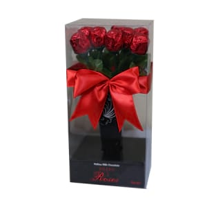 Chocolate rose box