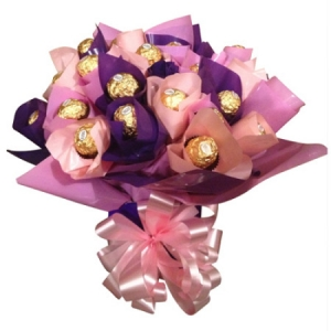 Pink Ferrero Rocher Chocolate Box