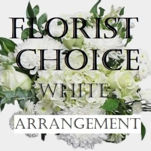 Florist Choice White Arrangement
