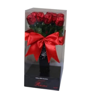 Chocolate boxed Roses