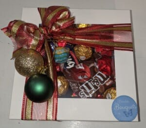 The Christmas sweets box