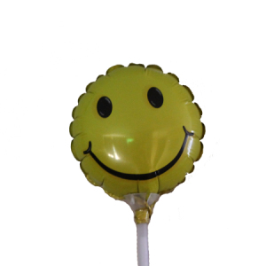 Smiley Face 9inch on a stick