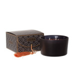 Secret garden boxed candle Black/copper