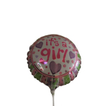 It`s A Girl 9inch on a stick