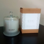 Keri Soy Candle Cloche